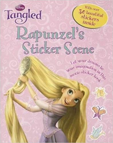 Disney Tangled Sticker Scene -