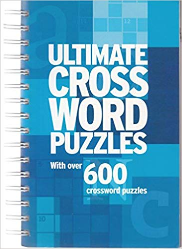 Ultimate Cross Word Puzzles: With Over 600 Crossword Puzzles  -