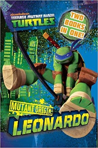 Teenage Mutant Ninja Turtles Mutant Origin: Donatello/Leonardo Novel