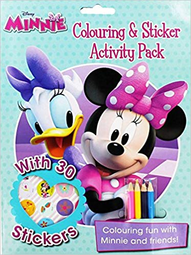 Disney Junior Minnie Boutique Coloring: Coloring and Sticker Activity Pack -