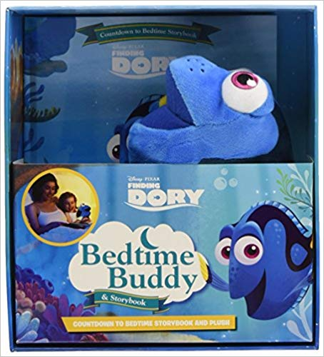 Disney Pixar Finding Dory Bedtime Buddy & Storybook (Storybook and Plush) -