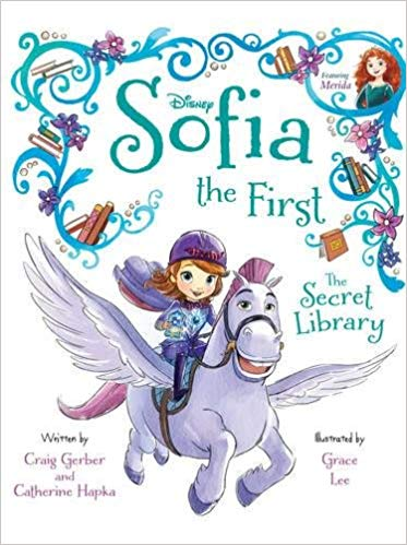 Disney Junior Sofia the First The Secret Library -