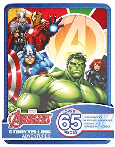 Marvel Avengers Storytelling Adventures: Over 65 Pieces -