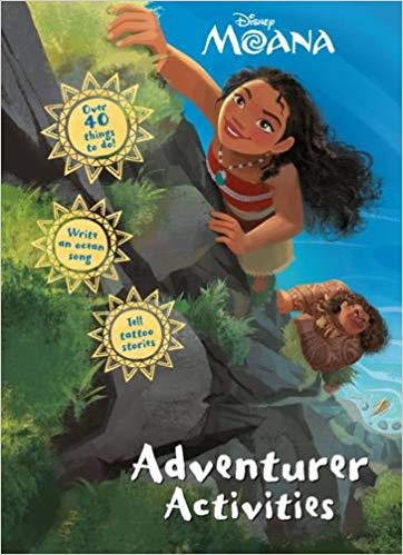 Disney Moana Adventurer Activities -