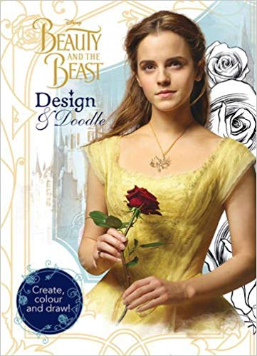 Disney Beauty and the Beast Design & Doodle: Create, Colour and Draw! -