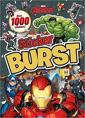 Marvel Avengers Sticker Burst: Over 1000 Stickers!