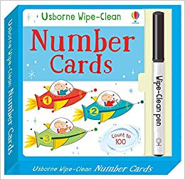 Wipe-Clean Number Cards (Wipe-clean Cards)