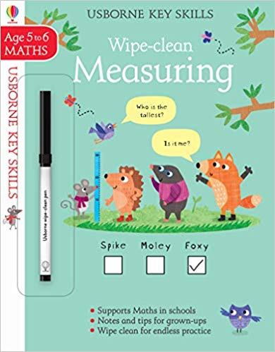 Wipe-Clean Measuring 5-6 (Wipe-Clean Key Skills)