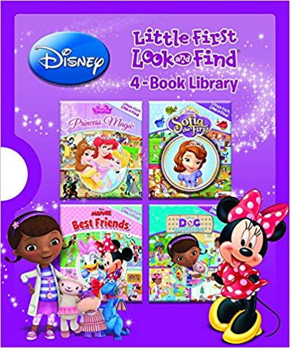 Disney® Little First Look and Find® 4-Book Library