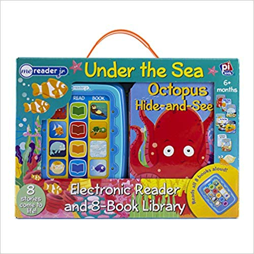 Under The Sea Me Reader Junior Electronic Reader and 8-Board Book Library -