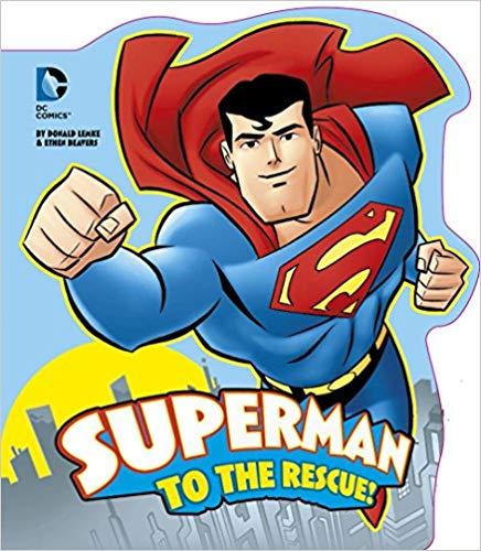 Superman to the Rescue! (DC Board Books) -