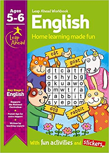 Leap Ahead Workbook: English Age 5-6
