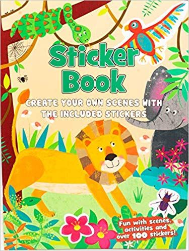 Create Your Own Scenes Jungle Sticker Book