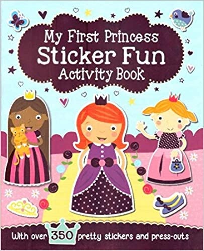 My First Princess Sticker Fun Activity Book -