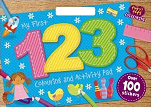 My First 123 Colouring Activity Book (Tiny Tots A3 Colouring Pad)