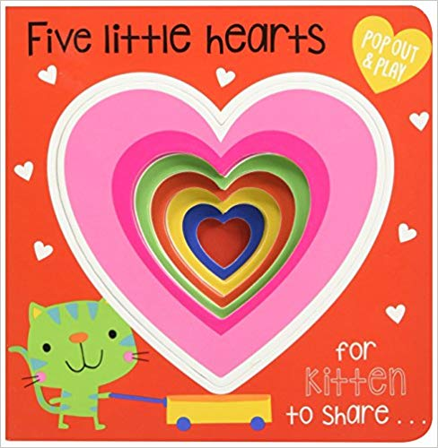 Five Little Hearts (Pop-Out and Play)