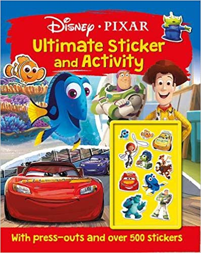 Disney Pixar - Mixed: Ultimate Sticker and Activity -