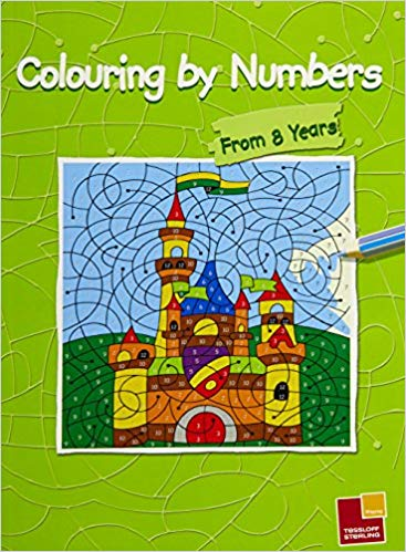 Colouring by numbers From 8 years