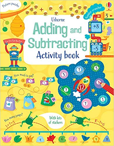 Adding and Subtracting: Activity Books - Paperback