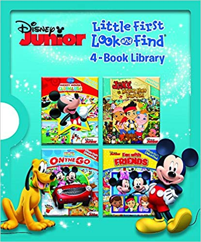 Disney® Junior Little First Look and Find® 4-Book Library  -