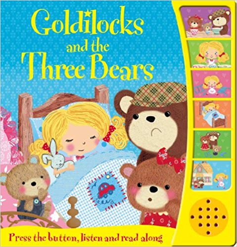 Goldilocks and the Three Bears (Touch and Feel Fairy Tales)