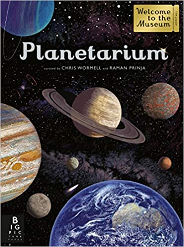 Planetarium Activity Book (Welcome To The Museum) Paperback