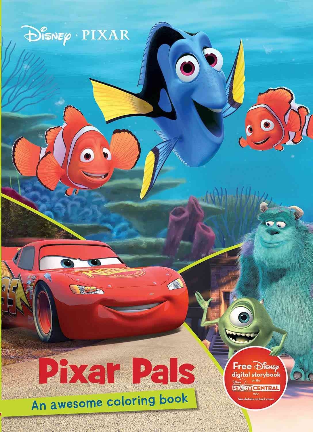 Pixar Pals Coloring Book