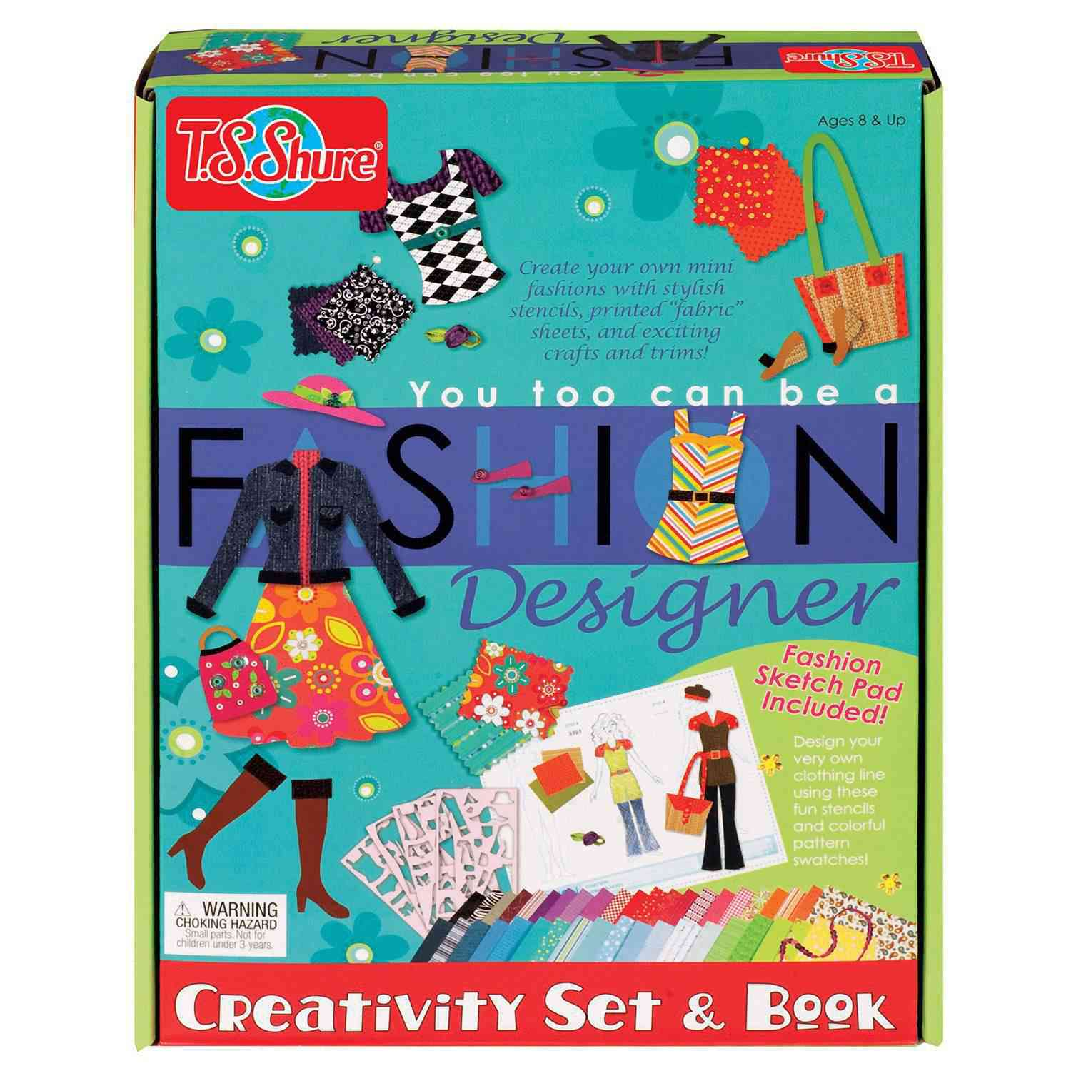 You Too Can Be A Fashion Designer Creativity Set And Book      Code  6011