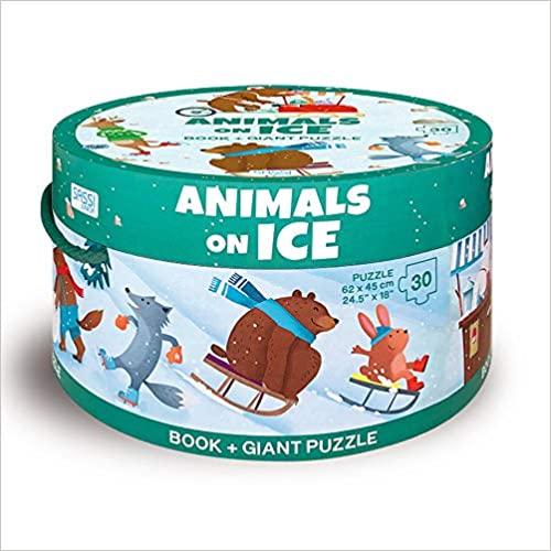 Animals on Ice (Giant Puzzle)