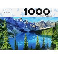 Banff Canada 1000 Piece Jigsaw Puzzle