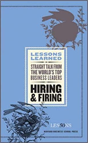 Hiring and Firing - (PB)