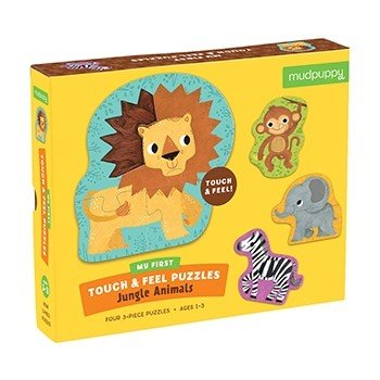 Jungle Animals Touch and Feel Puzzle