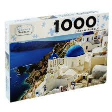 Santorini Greece 1000 Piece Jigsaw Puzzle