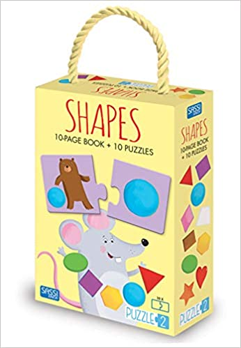 Shapes (Puzzle 2) Board book
