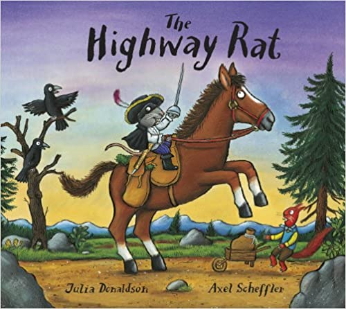 The Highway Rat Board book