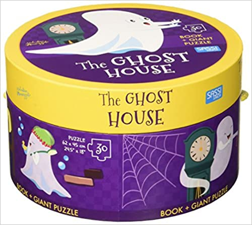 The Ghost House (Book + Giant Puzzle) - (HB)