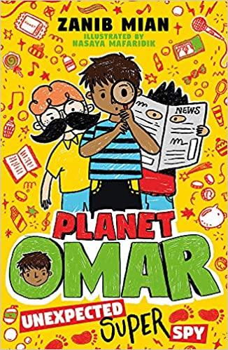 Unexpected Super Spy: Book 2 (Planet Omar) - (PB)