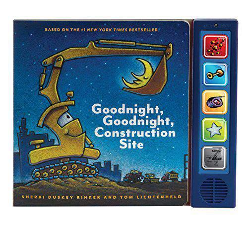 HIBA  3 Goodnight Goodnight Construction Site Sound Book