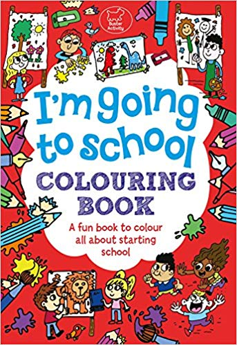 I'm Going to School Colouring Book (Buster Activity)