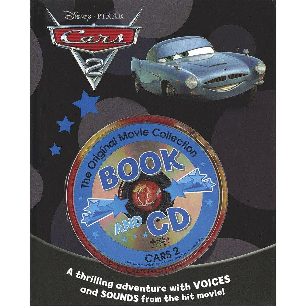 Disney Pixar Cars 2 - Book and CD