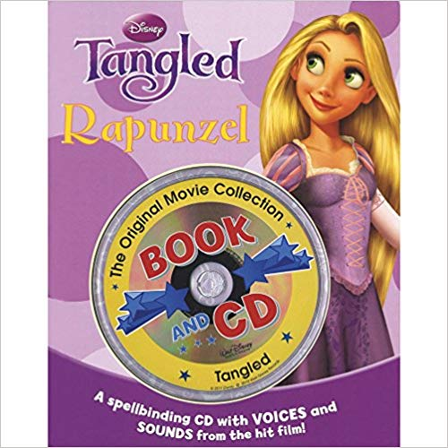 Disney Book and CD: Tangled -Rapunzel (Disney Storybook & CD