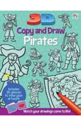 3D Copy & Draw Pirates -