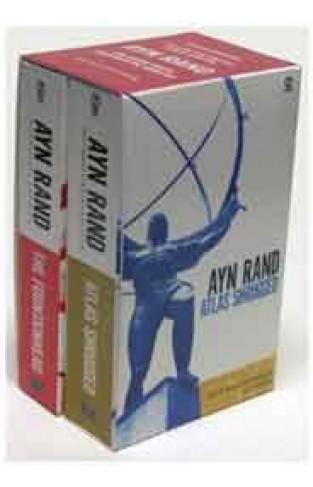 Ayn Rand Set: The Fountainhead/Atlas Shrugged-(Set Of 2 Books)