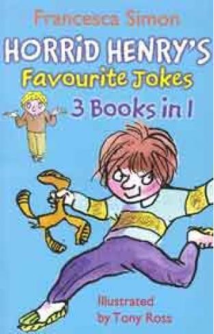 Horrid Henrys Favourite Jokes (Horrid Henry 3 in 1) - (PB)