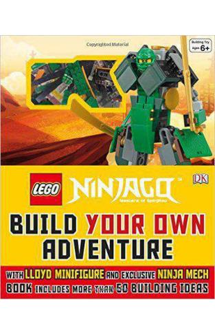 LEGO® Ninjago Build Your Own Adventure - (HB)