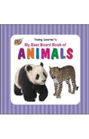 My Best Board Book of Animals - (BB)