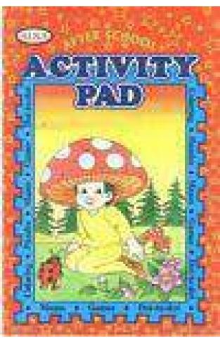 Alka After School Activity Pad  Red