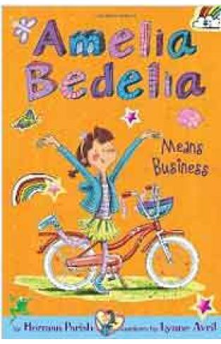 Amelia Bedelia Chapter Book 1 Amelia Bedelia Means Business  -