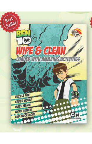 Ben10 Wipe & Clean Yellow Blue -