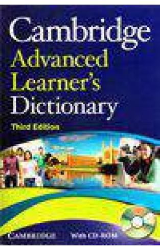 Cambridge Advanced Learners Dictionary With CD